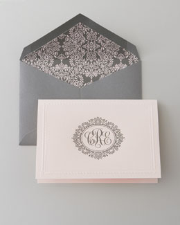 Hand-Engraved Personalized Stationery