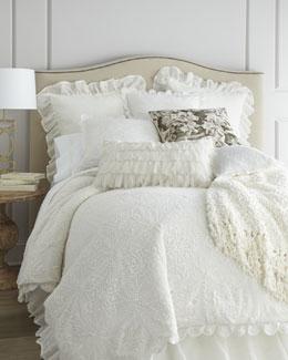 """Crochet"" Bed Linens"