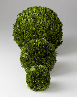 Boxwood Faux Greenery