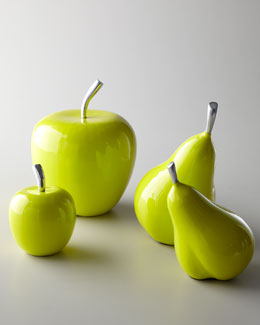 Florence de Dampierre Apples & Pears Fruit Sculptures