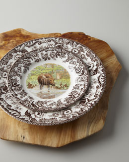 "Spode ""Woodlands Moose"" Dinnerware"