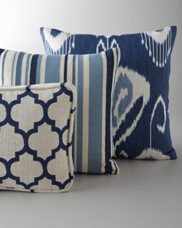 Pillows in Shades of Blue