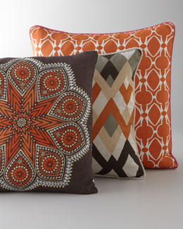 """Global Bazaar"" Pillows"