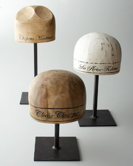 Jamie Young Wooden Hat Molds
