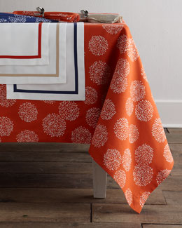 "Lulu DK for Matouk ""Bloom"" Table Linens"