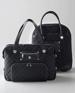 Quilted Tote & Carry On