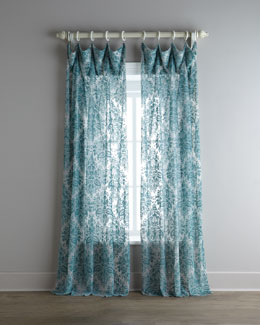 "Dian Austin Couture Home ""Vintage"" Sheer Curtains"