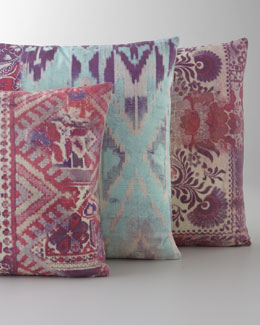 Tracy Porter Pink & Aqua Pillows