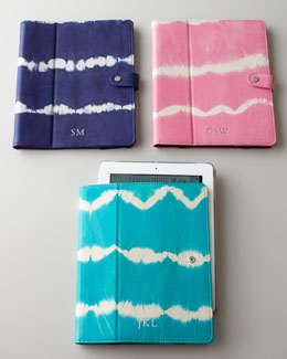 Graphic Image Tie-Dye iPad Case