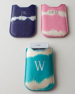 Graphic Image Tie-Dye iPhone Case