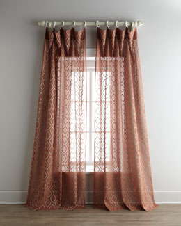 """Blaze"" Organdy Curtains"
