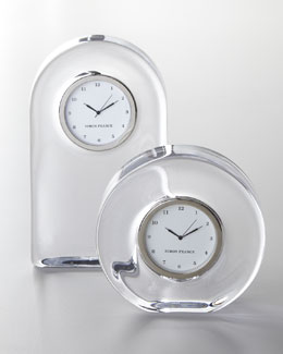 Simon Pearce Glass Clocks