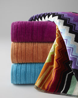 "Missoni Home ""Giacomo"" & ""Kian"" Towels"