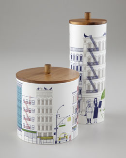 "kate spade new york ""About Town"" Canisters"