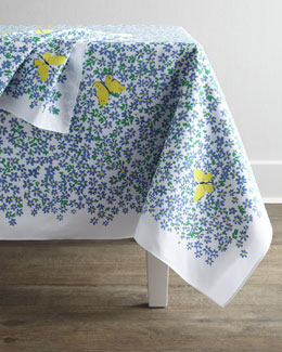 "Paule Marrot Editions ""Myosotis"" Table Linens"