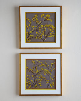 "John-Richard Collection ""Forsythia"" Print"