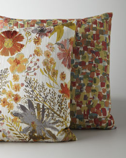 Abstract & Floral Pillows