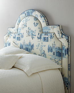"Massoud ""Blue Valley"" Headboard"