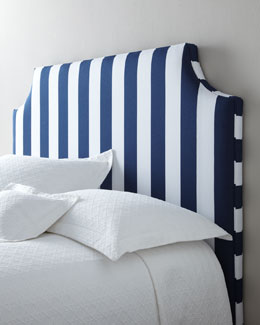 "Massoud ""Cabana Stripe"" Headboard"