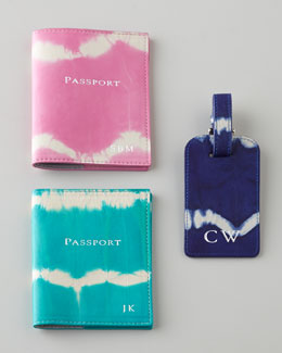 Graphic Image Tie-Dye Travel Accessories