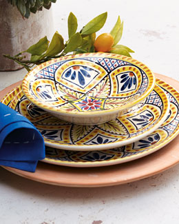 """Kaleidoscope Flower"" Dinnerware"