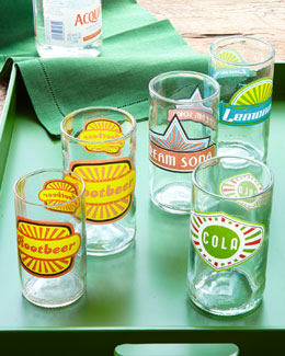 """Fun in the Sun"" Glassware"