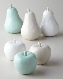 """Apples"" & ""Pears"" Sculptures"