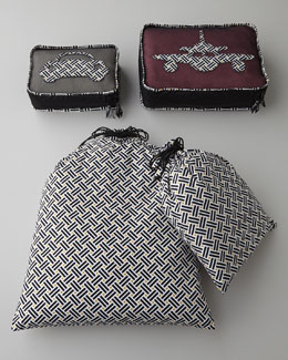 "Vera Bradley ""Basket Weave"" Travel Accessories"