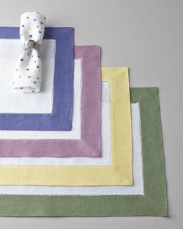 "SFERRA ""Dots & Colorblock"" Table Linens"