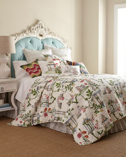 """Garden Folly"" Bed Linens"