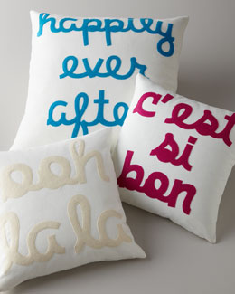 Alexandra Ferguson Sayings Pillows
