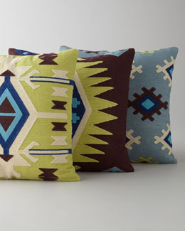 """Aztec"" Decorative Pillows"