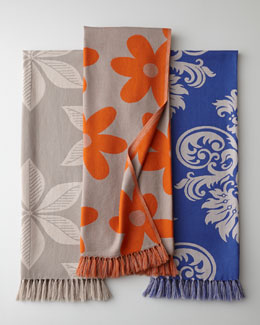 """Damask"" Throws"