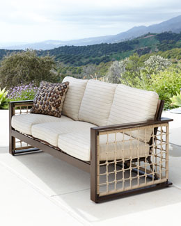 """Marina"" Outdoor Sofa & Cushions"