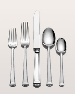 "Tuttle Five-Piece ""Pantheon"" Sterling-Silver Flatware Place Setting"