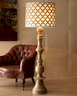 "Jamie Young ""Natural"" Floor Lamp"