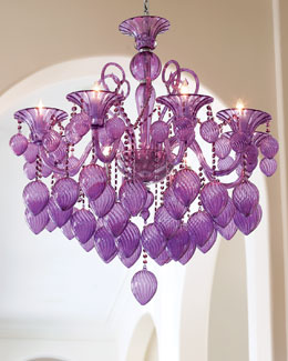"""Retro Glamour"" Chandelier"