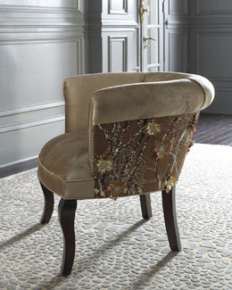 Haute House Portuguese Lace Chair