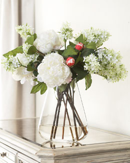 "John-Richard Collection ""White Simplicity"" Bouquet"