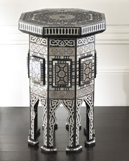 "Black ""Morrocan"" Table"