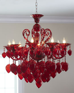 """Red Chianti"" Chandelier"