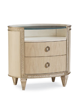 Carlton Oval Nightstand