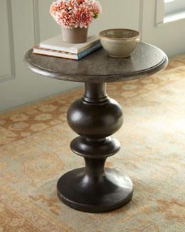 """Eston"" Pedestal Accent Table"
