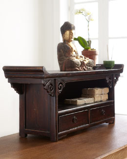 Antique Small Altar Table