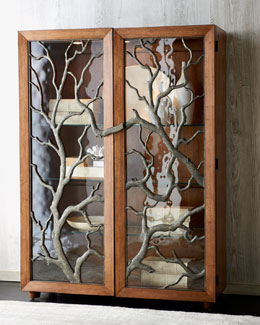 """Tree Branch"" Display Cabinet"