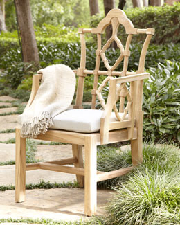 "Outdoor ""Italian"" Armchair"