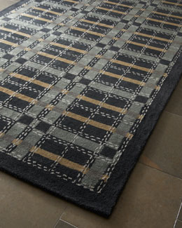"Martha Stewart Rugs ""Kevin Plaid"" Rug, 5' x 8'"