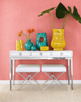 "Jonathan Adler ""Channing"" Three-Drawer Console"