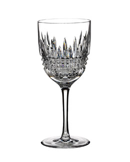 "Waterford ""Lismore Diamond"" White Wine Glass"