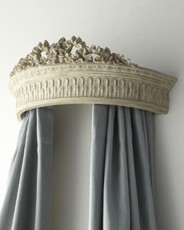 Washed Floral Bed Crown